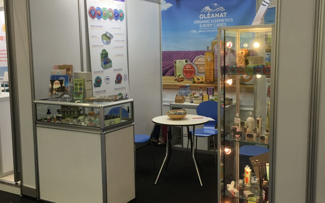 Le Secret Naturel au Salon Vivaness à Nuremberg