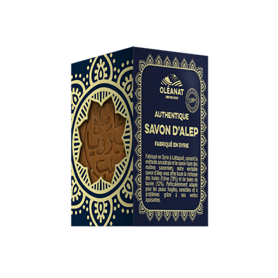 Savon d'Alep traditionnel Oléanat