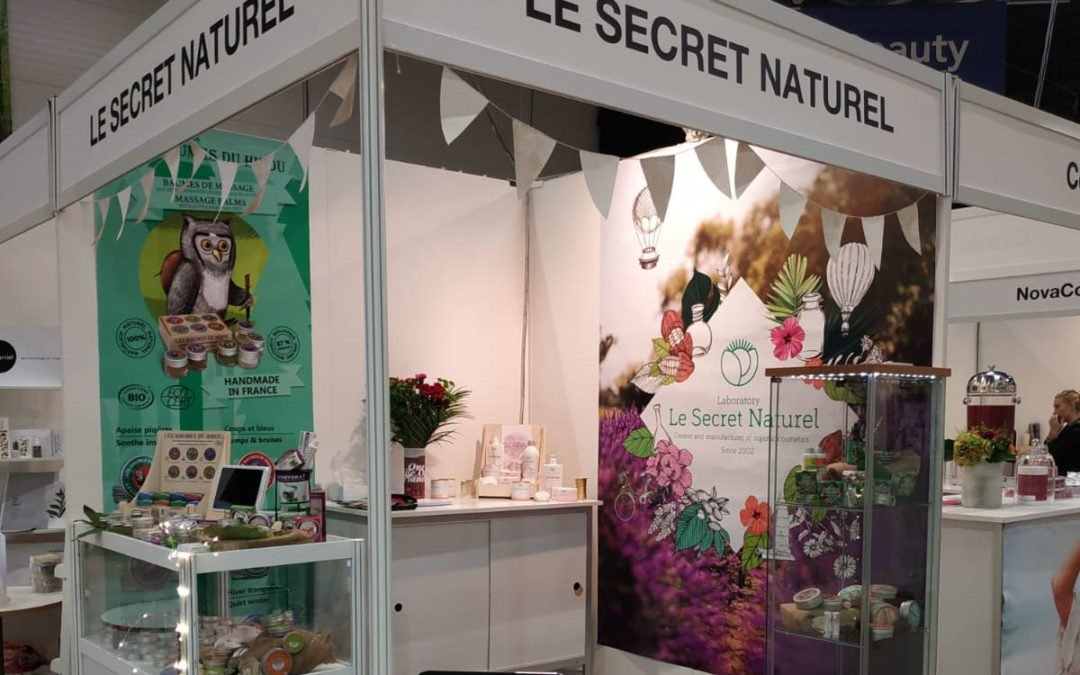 Le Secret Naturel expose au Salon Natexpo à Lyon